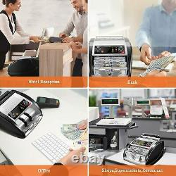 NX-510 Automatic Cash Currency Money Counter Machine Counterfeit Bill Detector