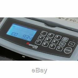 New Cassida 5520 UV MG Professional Currency Counter Counterfeit Bill Detection