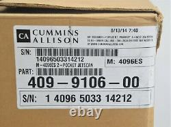 New Cummins Allison JetScan 4096ES 2-Pocket Currency Counter & Scanner