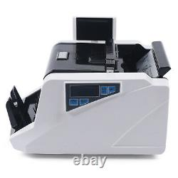 New Digital Display Money Counter Bank Multi-Currency Bill Cash Counting Machine