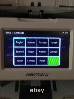 Newton III Premium heavy duty 1+1 pocket Fitness Sorter Currency Discriminator