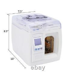 PASS Full Intelligent Money Binder Cash Binding Bill Currency Strapping Machine