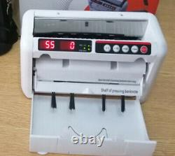 PORTABLE Money Counter Machine Counting Counterfeit Checking UV MG Bill Currency