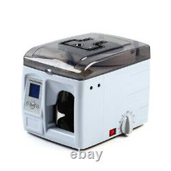 Portable Automatic Money Binder Cash Bill Currency Binding Strapping Machine