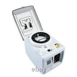 Portable Automatic Money Binder Cash Bill Currency Binding Strapping Machine USA