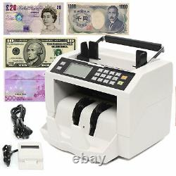 Portable K-301 Bill Money Counter Machine Currency Cash Counting Detector US