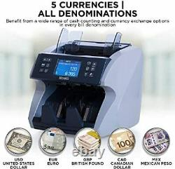 Promnico Automatic Money Cash Bill Counter Machine for Multiple Currency