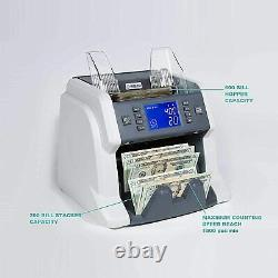 Ribao BC-35 high Speed Portable Bill Currency Counter Money UV/MG/IR