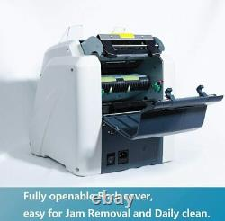 Ribao BCS-160 2-Pocket Mixed Currency Value Counter and Sorter, with Dust Cover