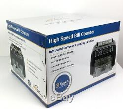 Royal Sovereign High Speed Currency Counter with Counterfeit Detection