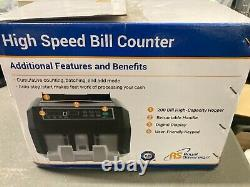 Royal Sovereign High Speed Currency Counter with Counterfeit Detection RBC-ES200