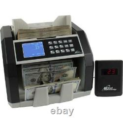 Royal Sovereign High Speed Currency Counter with Value Counting Black, Silver
