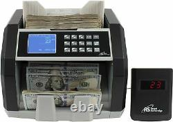 Royal Sovereign, RSIRBCED250, High Speed Currency Counter, 1 Each, Black, Silver