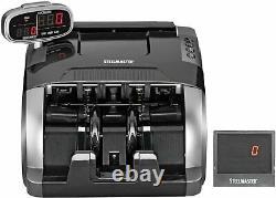 STEELMASTER Standard Currency Counter, Black (4800)