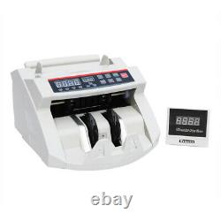 STON Money Bill Cash Counter Currency Count Machine Bank Counterfeit UV & MG New