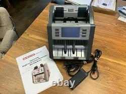 Semacon Model S-2200 one pocket currency discriminator refurbished, CF detection