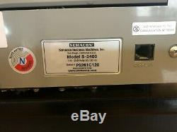 Semacon S-2400 Series Bank Grade Two Pocket Currency Discriminator