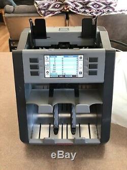 Semacon S-2500 Dual Pocket Currency Discriminator / Sorter 2nd Gen Technology