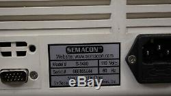 Semacon Table Top Bank Grade Currency Cash Money Counter S-1400 (Tested & Works)