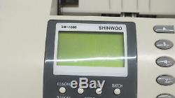 Shinwoo SB1000 Currency Money Counter Discriminator