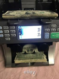 TBS NGENE Currency Money Counter Sorter Mixed denomination & counterfeit detect