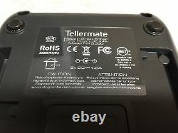 Tellermate T-iX 3500 Currency Money Counter with Money Platform TESTED/WORKING