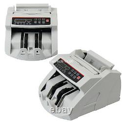 UPS Money Bill Cash Counter Currency Counting Machine MG Counterfeit Detector
