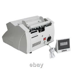 USA Automatic Money Bill Cash Currency Counter Counting Machine Counterfeit NEW