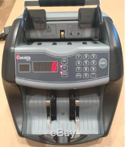 UV Cash Currency Counter Counterfeit Detection Money Bill Counting Machine