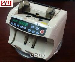 Vertical Money Counting Machine Bill Note Counter Currency Cash Counter Check