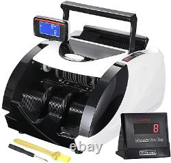 ZENY Money Counter Machine Automatic Currency Bill Counter Machine UV Detection