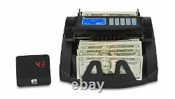 ZZap NC20i Bill Counter & Counterfeit Detector Money Cash Currency Machine