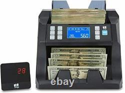 ZZap NC25 Bill Counter & Counterfeit Detector Money Cash Currency Machine