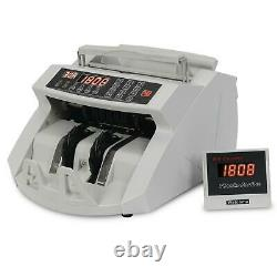Zeny Money Bill Counter Detector Display Currency Cash Counter Bank Machine, UV